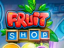 Играйте в виртуальный автомат Fruit Shop в казино онлайн